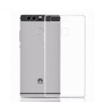 Husa de protectie Slim TPU pentru Huawei P9, Transparenta [Promo DoubleUP]