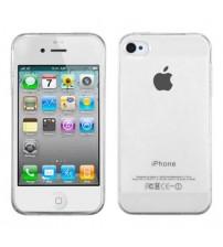 Husa de protectie Slim TPU pentru iPhone 4 / 4S, Transparenta