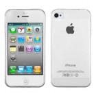 Husa de protectie Slim TPU pentru iPhone 4 / 4S, Transparenta [Promo DoubleUP]
