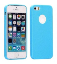 Husa de protectie Slim TPU pentru iPhone 5 / 5S, Albastra