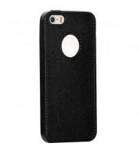 Husa de protectie Slim TPU pentru iPhone 5 / 5S, Neagra
