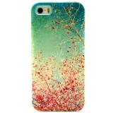 Husa de protectie Slim TPU pentru iPhone 5 / 5S,  Spring