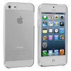 Husa de protectie Slim TPU pentru iPhone 5 / 5S, Transparenta [Promo DoubleUP]