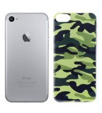 Husa de protectie Slim TPU pentru iPhone 7, Army