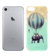 Husa de protectie Slim TPU pentru iPhone 7, Elephant