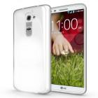 Husa de protectie Slim TPU pentru LG G2, Transparenta [Promo DoubleUP]