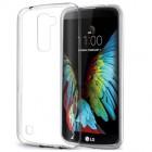 Husa de protectie Slim TPU pentru LG K10, Transparenta