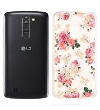 Husa de protectie Slim TPU pentru LG K7, Roses
