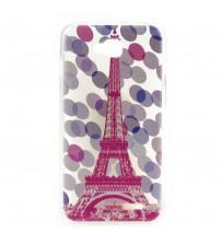 Husa de protectie Slim TPU pentru  LG L90, Eiffel