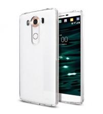 Husa de protectie Slim TPU pentru LG V10, Transparenta [Promo DoubleUP]