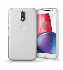 Husa de protectie Slim TPU pentru Motorola Moto G4 Plus, Transparenta [Promo DoubleUP]