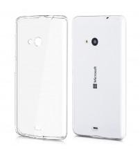Husa de protectie Slim TPU pentru Nokia Lumia 535, Transparenta