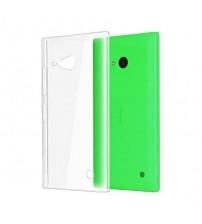 Husa de protectie Slim TPU pentru Nokia Lumia 730, Transparenta