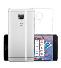 Husa de protectie Slim TPU pentru OnePlus 3 / 3T, Transparenta
