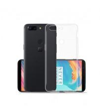 Husa de protectie Slim TPU pentru OnePlus 5T, Transparenta