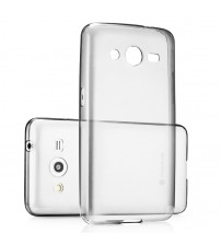 Husa de protectie Slim TPU pentru Samsung Core 2, Transparenta