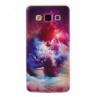 Husa de protectie Slim TPU pentru Samsung Galaxy A3,  Stars