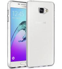 Husa de protectie Slim TPU pentru Samsung Galaxy A3 2016, Transparenta [Promo DoubleUP]
