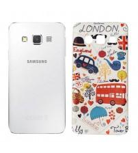 Husa de protectie Slim TPU pentru Samsung Galaxy A5, London