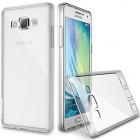 Husa de protectie Slim TPU pentru Samsung Galaxy A7, Transparenta [Promo DoubleUP]
