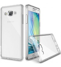 Husa de protectie Slim TPU pentru Samsung Galaxy A5, Transparenta [Promo DoubleUP]