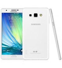Husa de protectie Slim TPU pentru Samsung Galaxy A8, Transparenta [Promo DoubleUP]