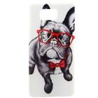 Husa de protectie Slim TPU pentru Samsung Galaxy Alpha, Bulldog