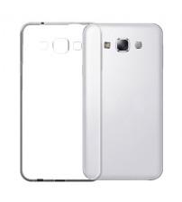 Husa de protectie Slim TPU pentru Samsung Galaxy E7, Transparenta [Promo DoubleUP]