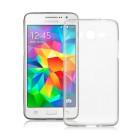 Husa de protectie Slim TPU pentru Samsung Galaxy Grand Prime, Transparenta [Promo DoubleUP]