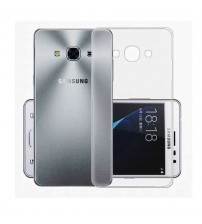 Husa de protectie Slim TPU pentru Samsung Galaxy J3 Pro, Transparenta