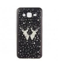 Husa de protectie Slim TPU pentru Samsung Galaxy J5, Deer