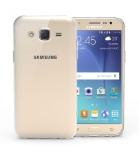 Husa de protectie Slim TPU pentru Samsung Galaxy J5, Transparenta [Promo DoubleUP]