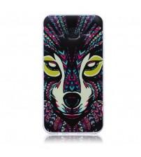 Husa de protectie Slim TPU pentru Samsung Galaxy J5, Wolf