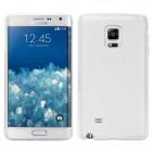 Husa de protectie Slim TPU pentru Samsung Galaxy Note Edge, Transparenta [Promo DoubleUP]