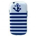 Husa de protectie Slim TPU pentru Samsung Galaxy S3 mini, Anchor