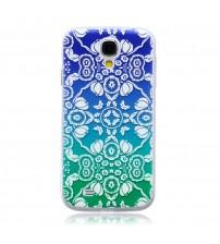 Husa de protectie Slim TPU pentru Samsung Galaxy S4,  Flowers