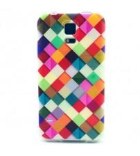 Husa de protectie Slim TPU pentru Samsung Galaxy S5, Diamond