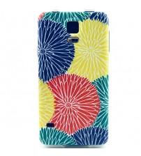 Husa de protectie Slim TPU pentru Samsung Galaxy S5, Flowers