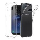 Husa de protectie Slim TPU pentru Samsung Galaxy S8, Transparenta [Promo DoubleUP]