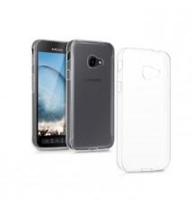 Husa de protectie Slim TPU pentru Samsung Galaxy xCover 4, Transparenta