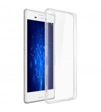Husa de protectie Slim TPU pentru Sony Xperia Z5 Premium, Transparenta [Promo DoubleUP]