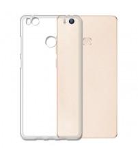 Husa de protectie Slim TPU pentru Xiaomi Mi4S, Transparenta [Promo DoubleUP]