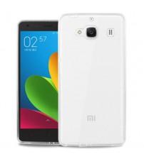 Husa de protectie Slim TPU pentru Xiaomi Redmi 2, Transparenta [Promo DoubleUP]