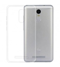 Husa de protectie Slim TPU pentru Xiaomi Redmi Note 3, Transparenta [Promo DoubleUP]