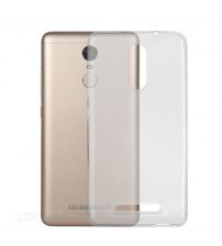 Husa de protectie Slim TPU pentru Xiaomi Redmi Note 4 (Mediatek), Transparenta