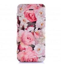 Husa de protectie tip carte pentru iPhone 5C,  Floral