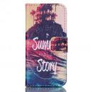 Husa de protectie tip carte pentru iPhone 5C,  Sunshine