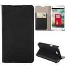 Husa de protectie tip carte pentru LG L80, Black
