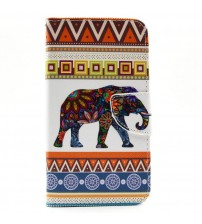 Husa de protectie tip carte pentru Samsung E7,  Elephant