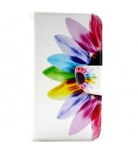 Husa de protectie tip carte pentru Samsung E7,  Flower